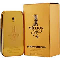 PACO RABANNE 1 MILLION MEN`S EDT SPRAY 1.7 OZ