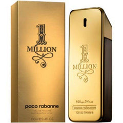 PACO RABANNE 1 MILLION MEN`S EDT SPRAY 3.4 OZ