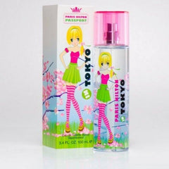 PARIS HILTON PASSPORT IN TOKYO WOMEN`S EAU DE TOILETTE SPRAY 3.4 OZ