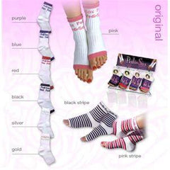 PEDI SOX BLACK 101