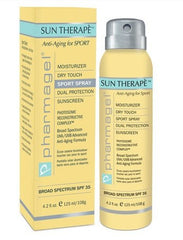 Pharmagel Sun Therape Sport Spray Sunscreen SPF 35 4.2 Oz