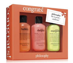 Philosophy Congrats Set 3pc
