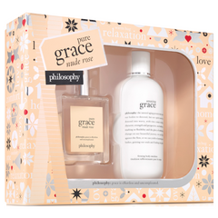 Philosophy Pure Grace Nude Rose Holiday Set 2 Pc