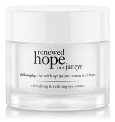 Philosophy Renewed Hope In A Jar Eye Refreshing & Refining Eye Cream 0.5 Oz