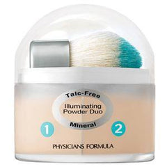 PHYSICIANS FORMULA MINERAL WEAR TALC FREE MINERAL LOOSE POWDER DUO CREAMY LIGHT/NATURAL