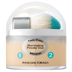 PHYSICIANS FORMULA MINERAL WEAR TALC FREE MINERAL LOOSE POWDER DUO TRANSLUCENT/LIGHT