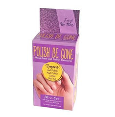 Polish Be Gone Gel Polish Remover 50 packettes