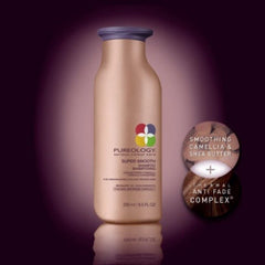 PUREOLOGY SUPER SMOOTH SHAMPOO 10.1 OZ