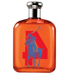 RALPH LAUREN BIG PONY ORANGE #4 MEN`S EAU DE TOILETTE SPRAY 2.5 OZ.