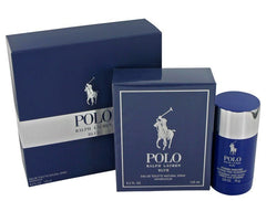 RALPH LAUREN POLO BLUE MENS GIFT SET 2 PIECE