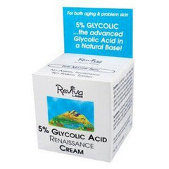 REVIVA GLYCOLIC ACID NIGHT/DAY CREAM .75 OZ 381-C