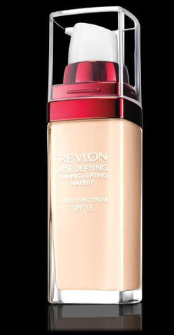 the red age decreasing foundation for Revlon Age Defying Firming & Lifting Makeup, SPF 15