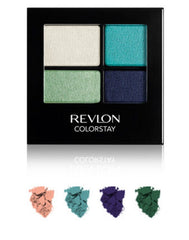 REVLON COLORSTAY 16 HOUR EYE SHADOW QUAD SEA MIST