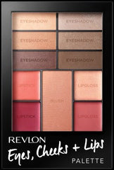 Revlon Eyes Cheeks and Lips Romantic Nudes