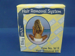 RIKY WAX HAIR REMOVER KIT W9