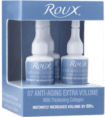 Roux 07 Anti Aging Extra Volume 3 Pack
