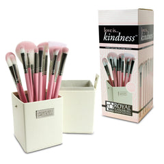 Royal Brush Love Is Kindness 12 Piece Brush Set