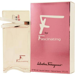 SALVATORE FERRAGAMO F FOR FASCINATING WOMEN`S EDT SPRAY 3 OZ.
