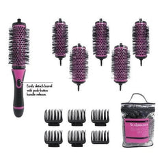 Scalpmaster Ionic And Ceramic Blow-Out Brush Set 13 Pc