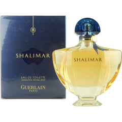 SHALIMAR WOMENS EAU DE TOILETTE SPRAY 3 OZ