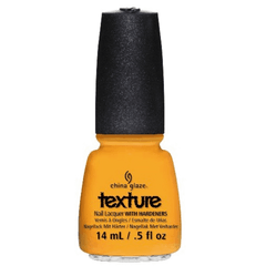 CHINA GLAZE NAIL POLISH #1190 TOE-TALLY TEXTURED .5 OZ- TEXTURE 2013 COLLECTION