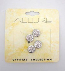Sprayco Allure Rhinestone Hair Screws 4 Pack