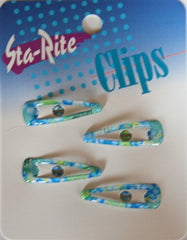 Sta Rite 1.5 Inch Snap-eze Floral Clips 4 Count