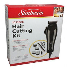 Sunbeam 10 Piece Hair Cutting Clipper Kit