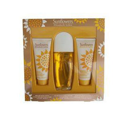 SUNFLOWERS 3-PC SET $65 VALUE 3.3SPRAY/BODY LOTION /CLEANS SUNSM28001