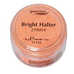 SUPER NAIL BRIGHT HALTER-NEON ORANGE ACRYLIC .5 OZ