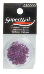 SUPER NAIL PURPLE BURST 12 CT