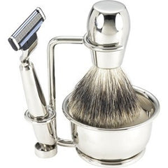Swissco Shave Set-Nickle 5 pc