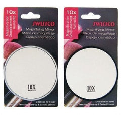 Swissco Suction Cup Mirror 3.5 Inch 10X Magnification