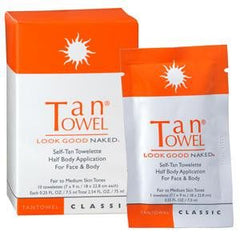 TAN TOWEL CLASSIC HALF BODY 10 PACK HBCL10