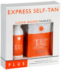 TAN TOWEL EXPRESS SELF-TAN PLUS KIT