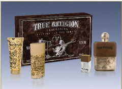 TRUE RELIGION MEN`S 2010 HOLIDAY GIFT SET 4 PC