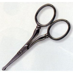 TWEEZERMAN  FACIAL HAIR SCISSORS STAINLESS 2902-P