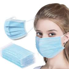 Personal Protection Equipment Disposable Face Mask 50 count