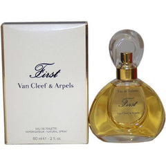 VAN CLEEF FIRST WOMEN`S EAU DE TOILETTE SPRAY 2 OZ