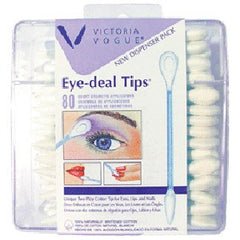 VICTORIA VOGUE #500 POINT AND PADDLE EYE TIPS 80 CT. 25500
