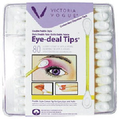 VICTORIA VOGUE #503 DOUBLE PADDLE EYE TIPS 80 CT