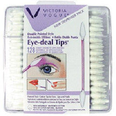 VICTORIA VOGUE #505 DOUBLE POINTED EYE TIPS 128 CT. 25505