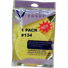 VICTORIA VOGUE NATURAL CELLULOSE SPONGE #134 1 PACK