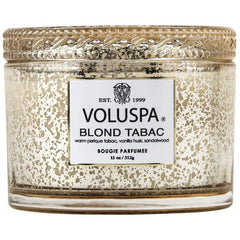 Voluspa Vermeil Corta Mason Glass Candle 11 Oz