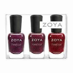 Zoya Ultra Pixie Dust Trio Sampler 3 X .5 Oz