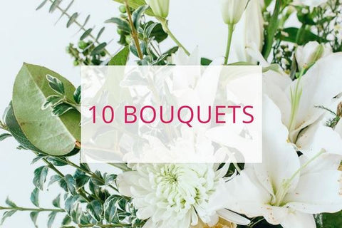 Digital Wallet | 10 Bouquets