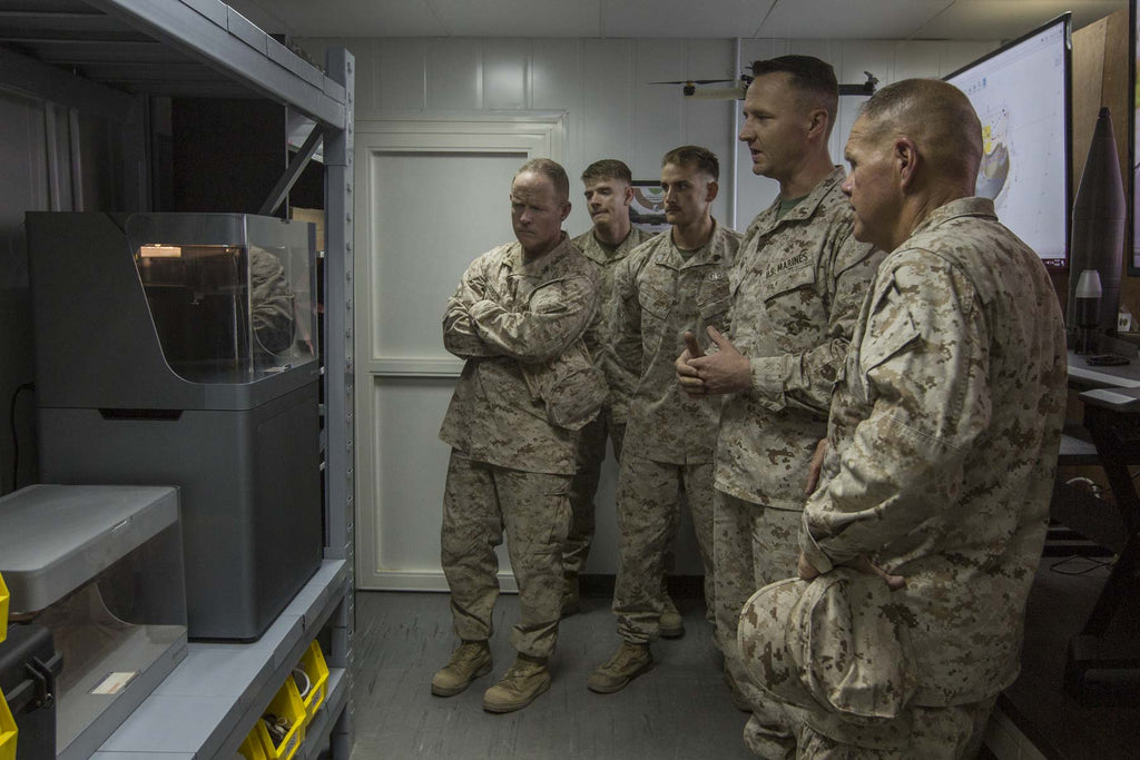 Marine Corps Using 3D Printing to Tackle Spare Parts Challenge