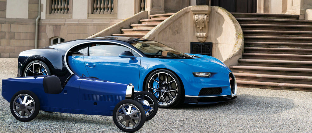 Bugatti 3D Prints Electrified Version of Famous Race Car