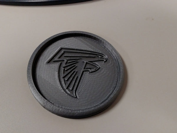 atlanta falcons coaster 3d print