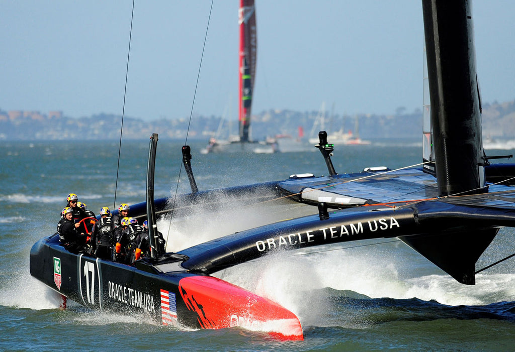 oracle team usa 3d printing